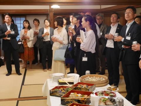 浄智寺で第十四回鎌倉芸術祭オープニングレセプション9・20_c0014967_10490185.jpg