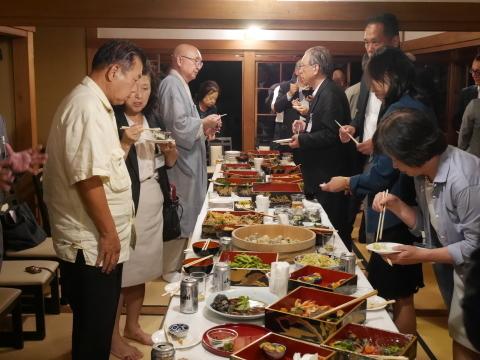 浄智寺で第十四回鎌倉芸術祭オープニングレセプション9・20_c0014967_10493092.jpg