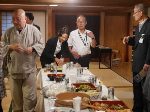 浄智寺で第十四回鎌倉芸術祭オープニングレセプション9・20_c0014967_16390206.jpg