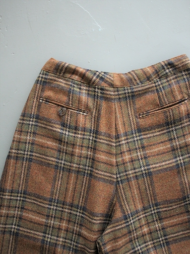 NEEDLES Darts Military Pant - Wool Plaid Tweed_b0139281_1251461.jpg