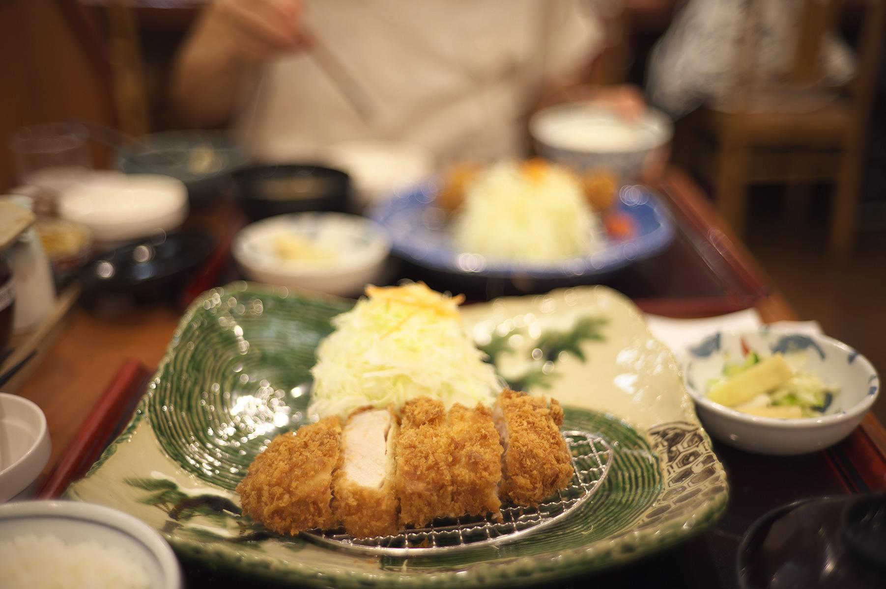 黒豚ロース定食 1,980円_f0121181_02404862.jpg