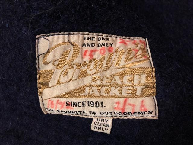 """9月25日(水)マグネッツ大阪店 冬物ヴィンテージ入荷!!#6 \""""BROWN\'S BEACH\""""編!1950\'s Jacket & Vest!!_c0078587_20365143.jpg"""