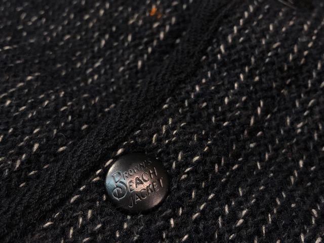 """9月25日(水)マグネッツ大阪店 冬物ヴィンテージ入荷!!#6 \""""BROWN\'S BEACH\""""編!1950\'s Jacket & Vest!!_c0078587_21185132.jpg"""