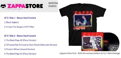 ●『ZAPPA IN NEW YORK 40TH ANNIVERSARY DELUXE EDITION』その6_d0053294_20444938.jpg