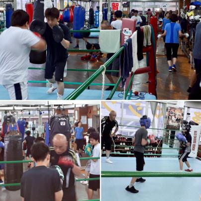 ボクシングジムです。_a0134296_09445577.jpg