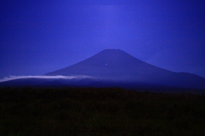 令和元年9月の富士(21)梨ヶ原月夜の富士_e0344396_14380510.jpg