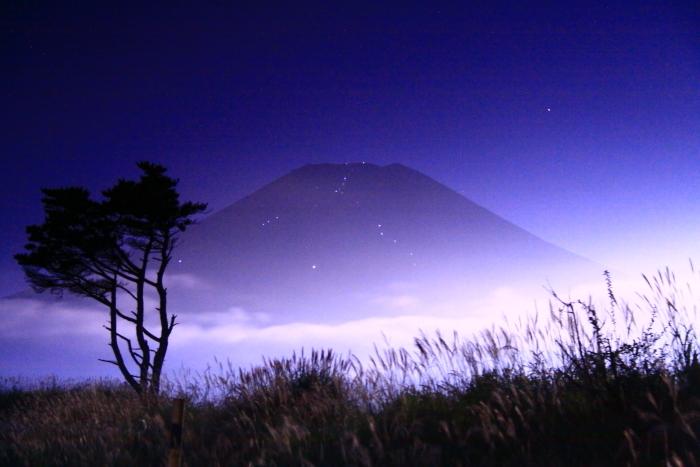 令和元年9月の富士(21)梨ヶ原月夜の富士_e0344396_14381281.jpg