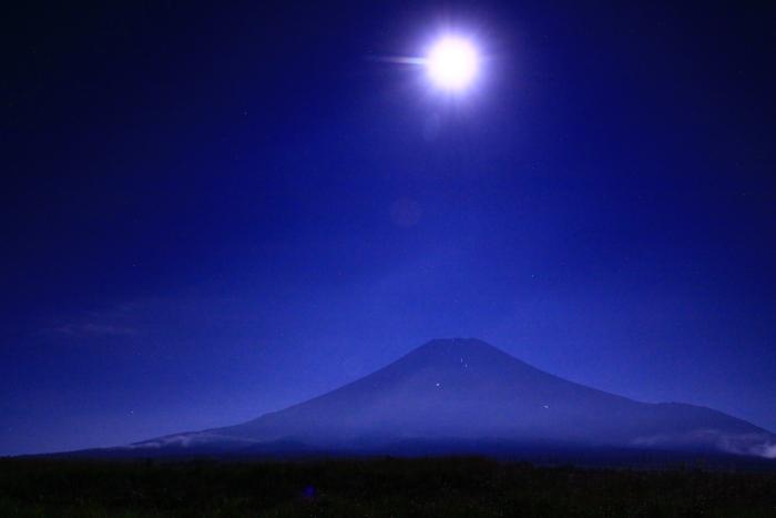 令和元年9月の富士(21)梨ヶ原月夜の富士_e0344396_14381991.jpg