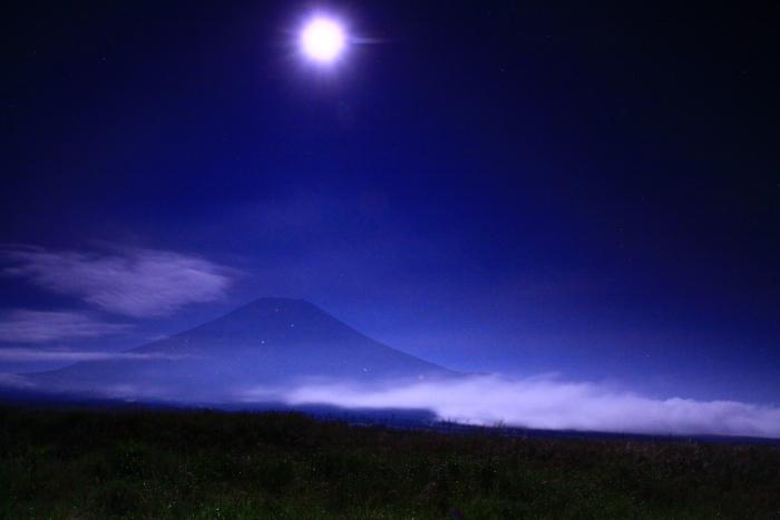 令和元年9月の富士(21)梨ヶ原月夜の富士_e0344396_14382593.jpg
