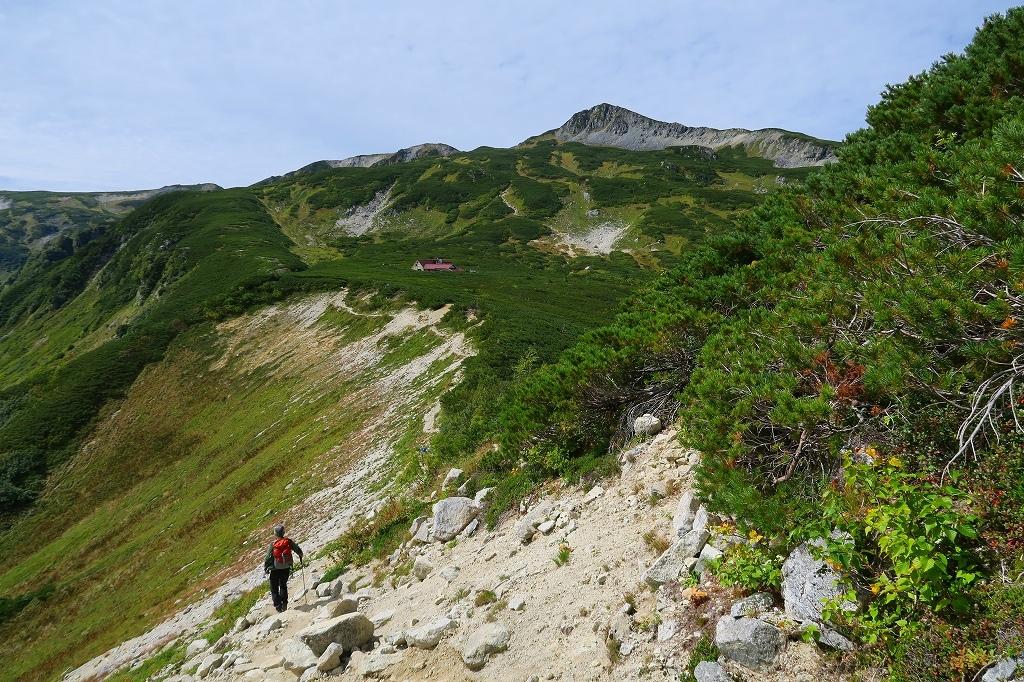 鷲羽岳、2019.9.20_f0138096_22040399.jpg
