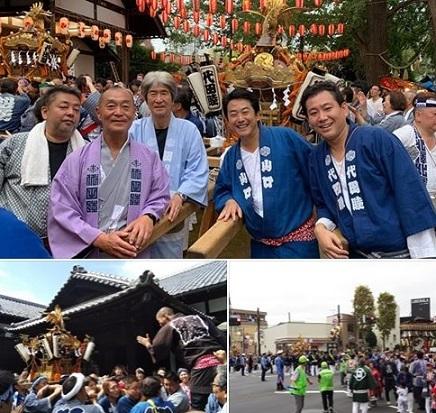 代田八幡神社 祭礼_c0092197_00074645.jpg