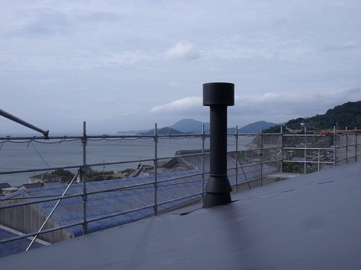 仁尾町で煙突工事_b0186205_10070218.jpg