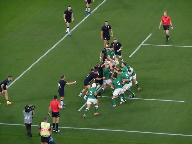 さすが世界ランキング1位 アイルランドの強さばかりが目立ったラグビー「アイルランド×スコットランド」戦_f0141310_07563331.jpg