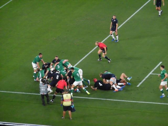 さすが世界ランキング1位 アイルランドの強さばかりが目立ったラグビー「アイルランド×スコットランド」戦_f0141310_07564195.jpg