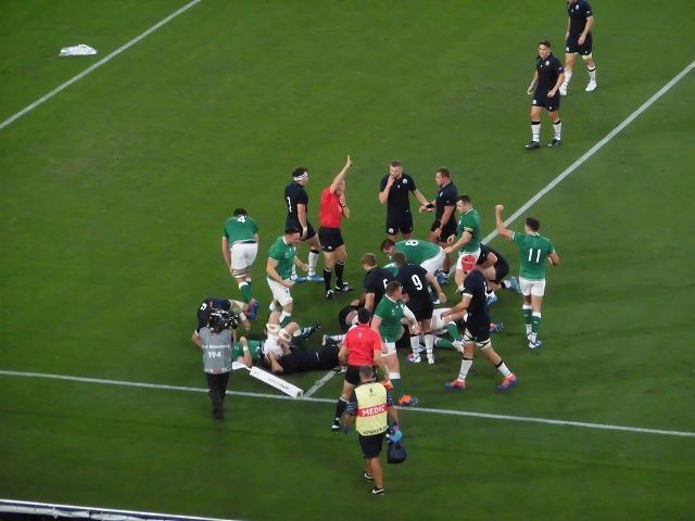 さすが世界ランキング1位 アイルランドの強さばかりが目立ったラグビー「アイルランド×スコットランド」戦_f0141310_07565004.jpg