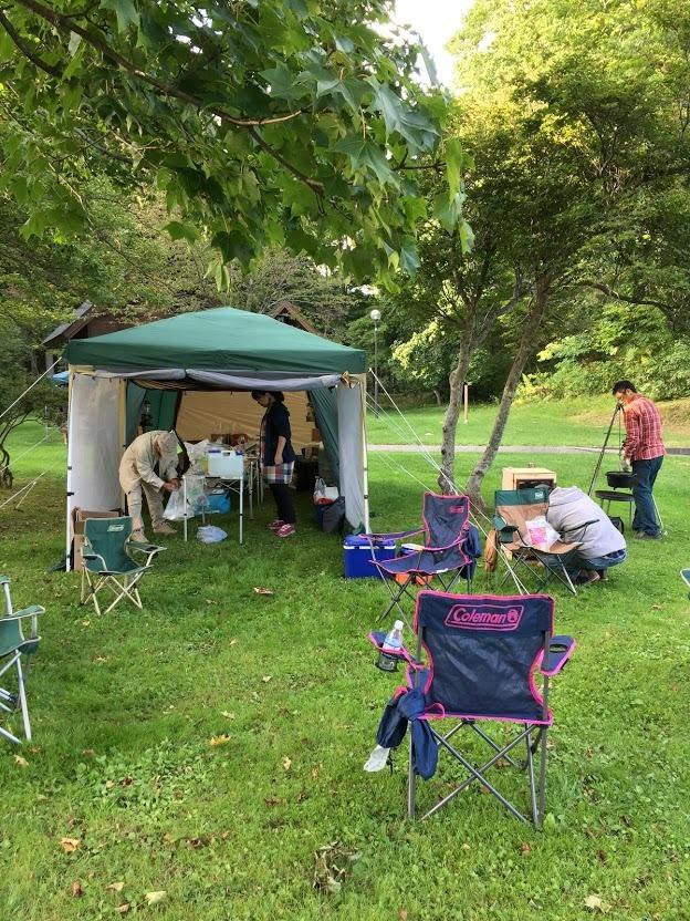 9月21-23日(土~月)黒松内キャンプ 参加:10名 天候:晴、晴、台風_c0173813_14162408.jpg