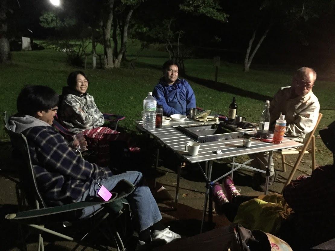 9月21-23日(土~月)黒松内キャンプ 参加:10名 天候:晴、晴、台風_c0173813_14163439.jpg