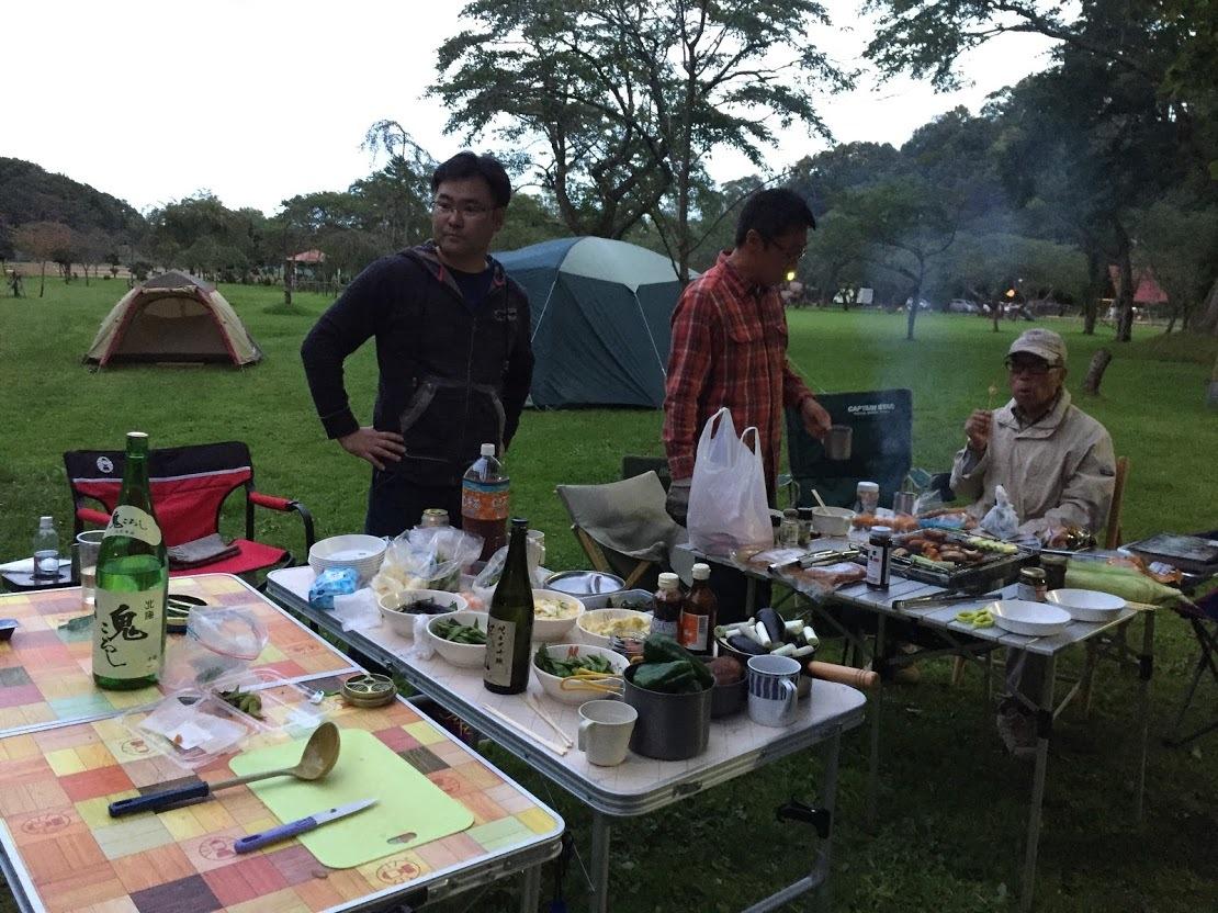 9月21-23日(土~月)黒松内キャンプ 参加:10名 天候:晴、晴、台風_c0173813_14203989.jpg
