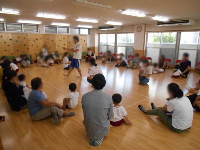 ぞう組 保育参観と給食懇談会_e0148419_1411561.jpg