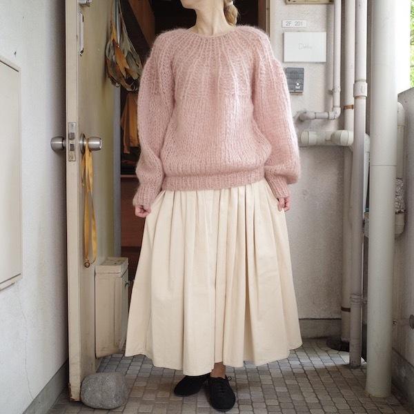 モへアのセーター_d0364239_19490805.jpg