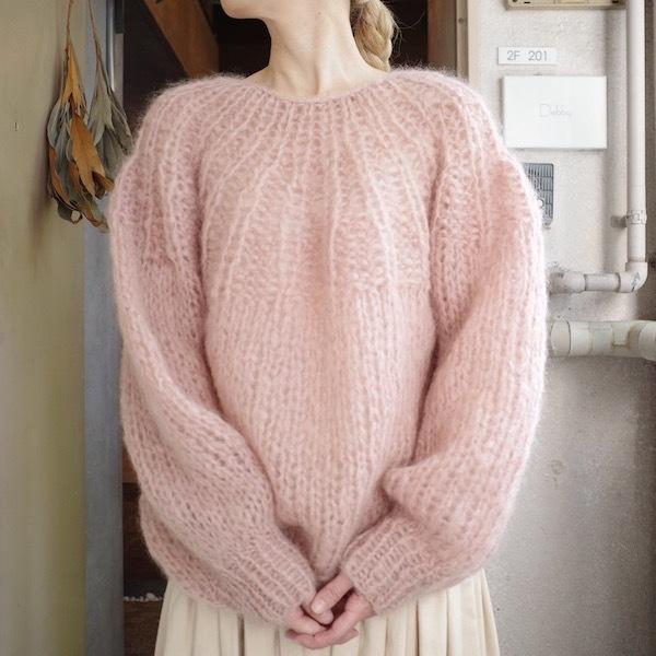 モへアのセーター_d0364239_19492879.jpg