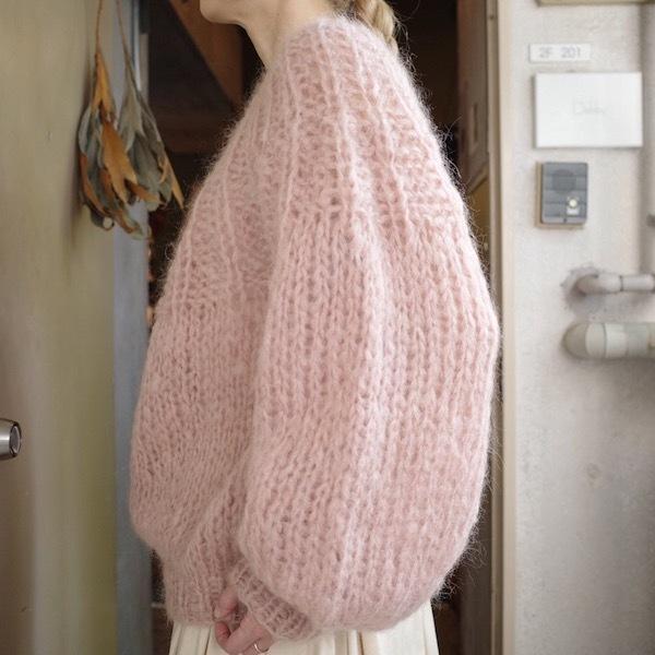モへアのセーター_d0364239_19494133.jpg