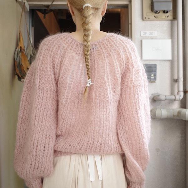 モへアのセーター_d0364239_19495958.jpg