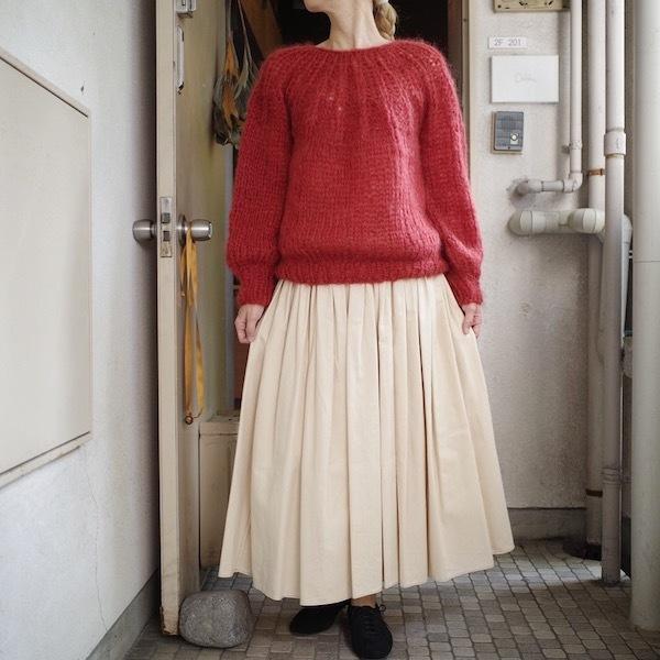 モへアのセーター_d0364239_19501739.jpg
