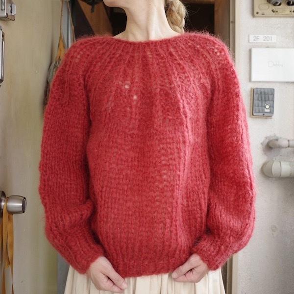 モへアのセーター_d0364239_19503236.jpg