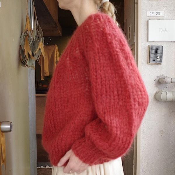 モへアのセーター_d0364239_19504661.jpg