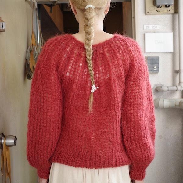 モへアのセーター_d0364239_19510081.jpg