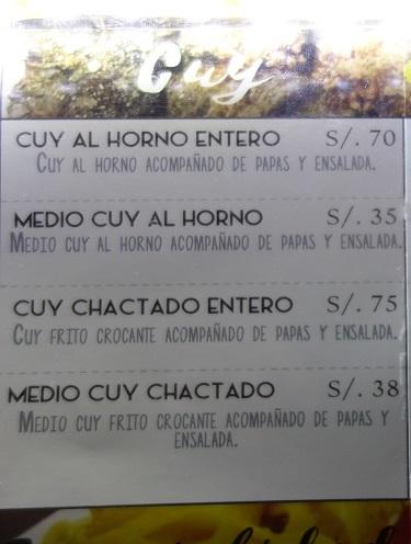 クスコのレストランでクイの半身フライを食べてみた_c0030645_08052450.jpg