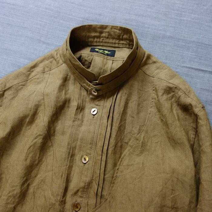 11月の製作 / frenchvictoians strap-cover linen shirt_e0130546_14105297.jpg