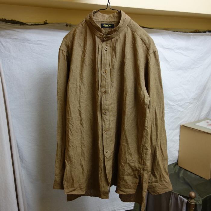11月の製作 / frenchvictoians strap-cover linen shirt_e0130546_14193586.jpg