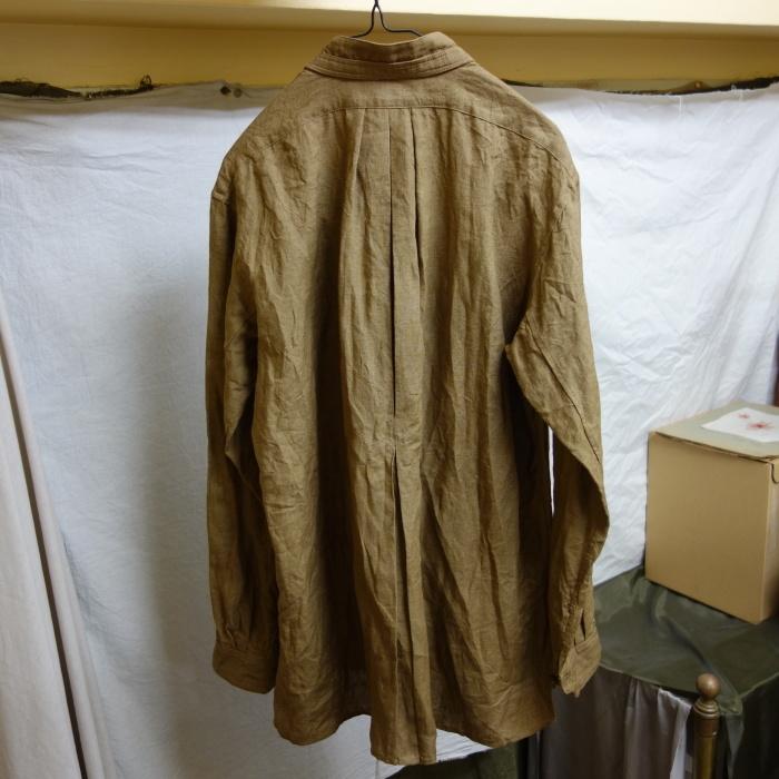 11月の製作 / frenchvictoians strap-cover linen shirt_e0130546_14195088.jpg