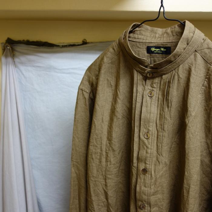 11月の製作 / frenchvictoians strap-cover linen shirt_e0130546_14201050.jpg