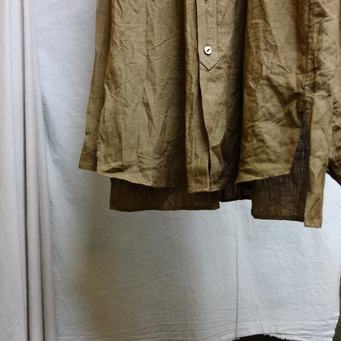 11月の製作 / frenchvictoians strap-cover linen shirt_e0130546_14202273.jpg