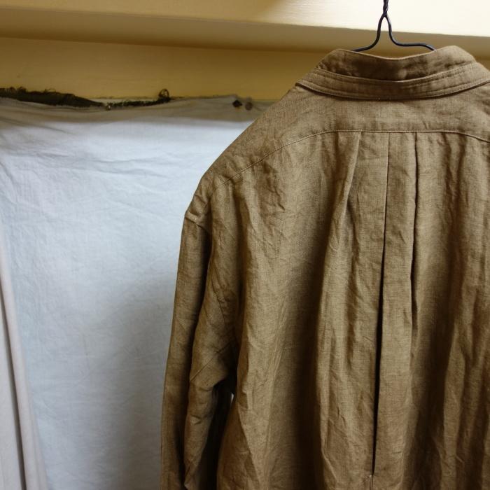 11月の製作 / frenchvictoians strap-cover linen shirt_e0130546_14203546.jpg