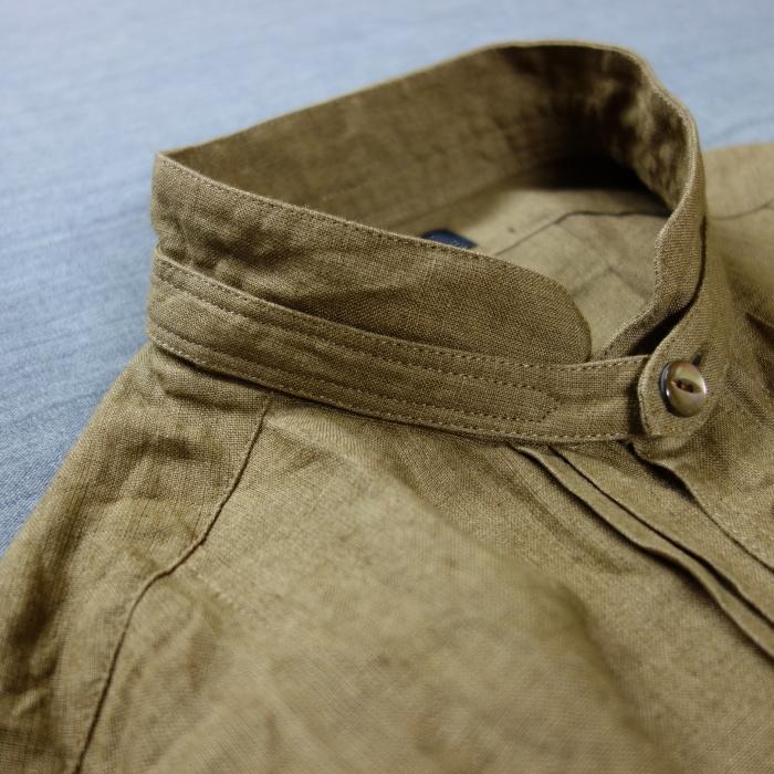 11月の製作 / frenchvictoians strap-cover linen shirt_e0130546_14205743.jpg