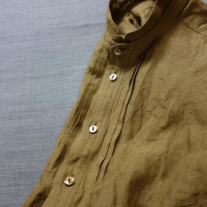 11月の製作 / frenchvictoians strap-cover linen shirt_e0130546_14211402.jpg