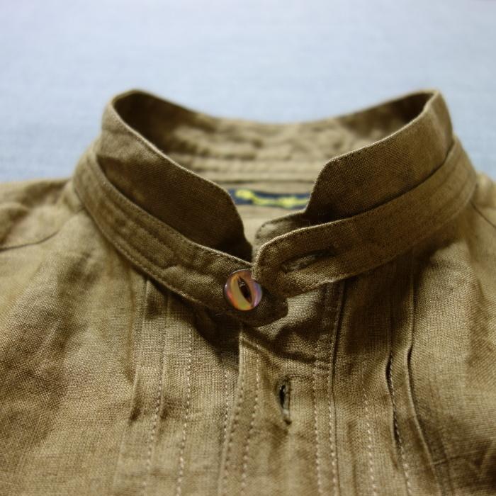 11月の製作 / frenchvictoians strap-cover linen shirt_e0130546_14212954.jpg