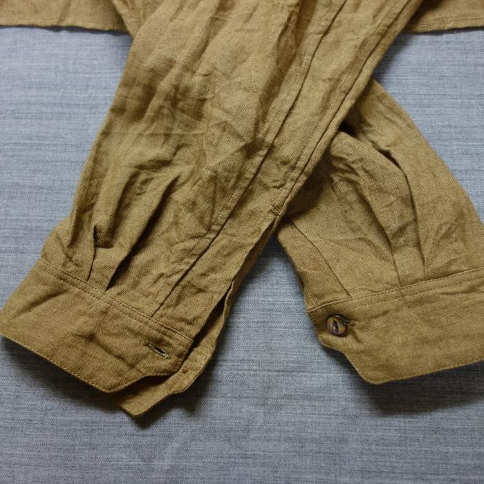 11月の製作 / frenchvictoians strap-cover linen shirt_e0130546_14215426.jpg