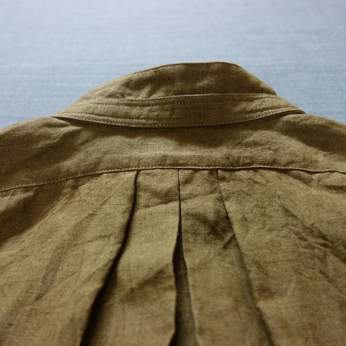 11月の製作 / frenchvictoians strap-cover linen shirt_e0130546_14222822.jpg