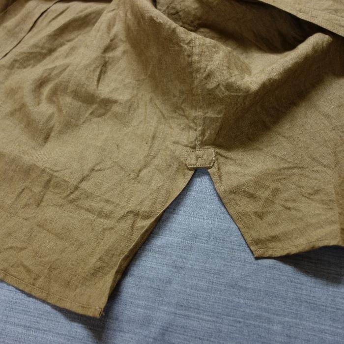 11月の製作 / frenchvictoians strap-cover linen shirt_e0130546_14224551.jpg
