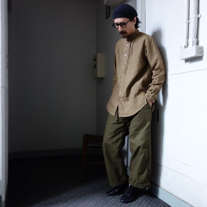 11月の製作 / frenchvictoians strap-cover linen shirt_e0130546_14243820.jpg