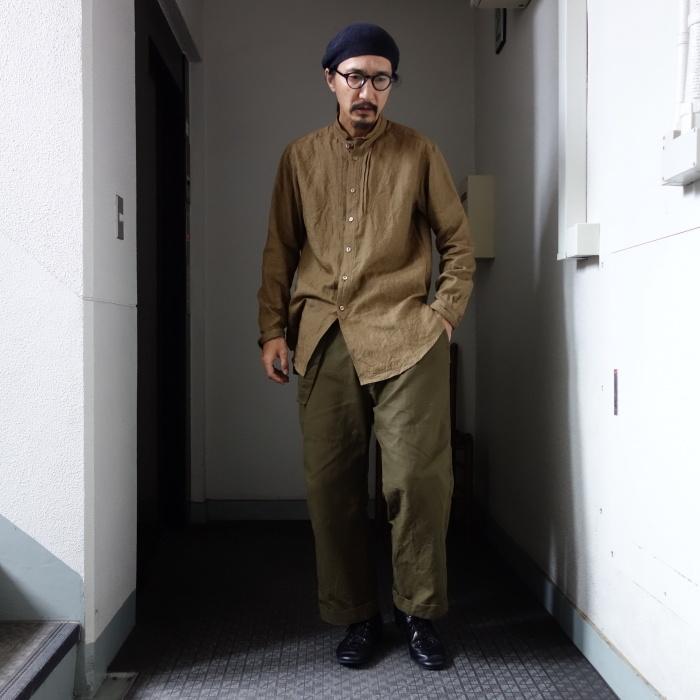 11月の製作 / frenchvictoians strap-cover linen shirt_e0130546_14245258.jpg