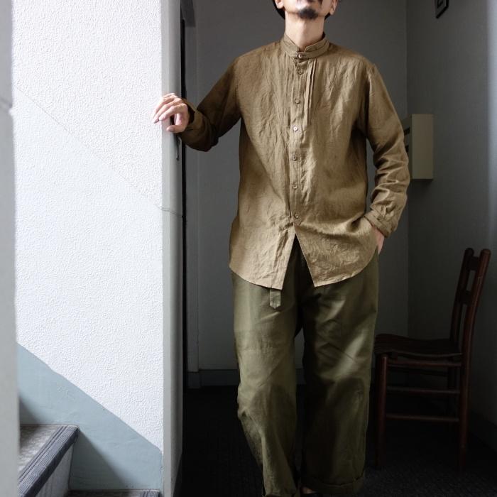 11月の製作 / frenchvictoians strap-cover linen shirt_e0130546_14250345.jpg