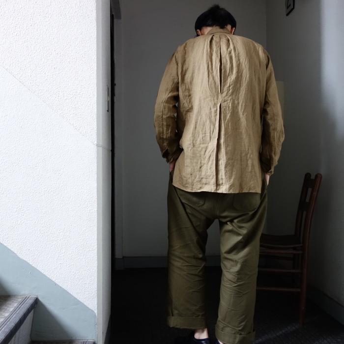 11月の製作 / frenchvictoians strap-cover linen shirt_e0130546_14251562.jpg
