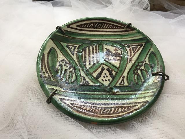 タラベラ焼き及びテルウェル焼き陶器小皿3点_f0112550_06101201.jpg