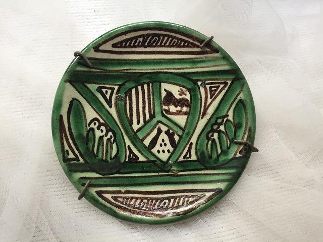 タラベラ焼き及びテルウェル焼き陶器小皿3点_f0112550_06101215.jpg